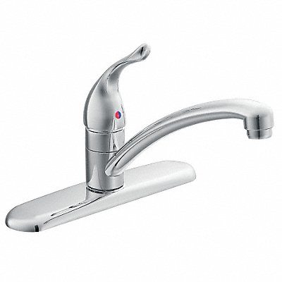 Cast Metal Kitchen Faucet Manual Faucet Operation Number of Handles 1