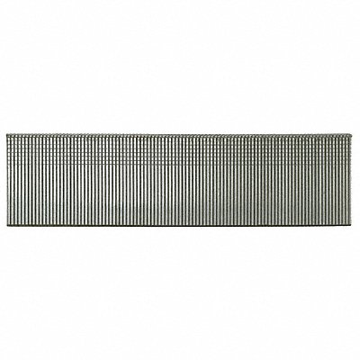Straight Finish Nails 18 ga. Gauge 1-1/4 Length Steel Galvanized Strip Package Quantity 5000