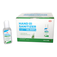 BYD Care Moisturizing Hand Sanitizer, Aloe Cucumber Scent, 1.6 Oz, Box of 20 Bottles