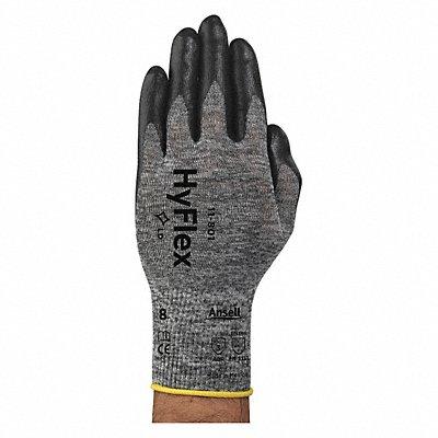 15 Gauge Foam Nitrile Coated Gloves Glove Size L Black/Gray