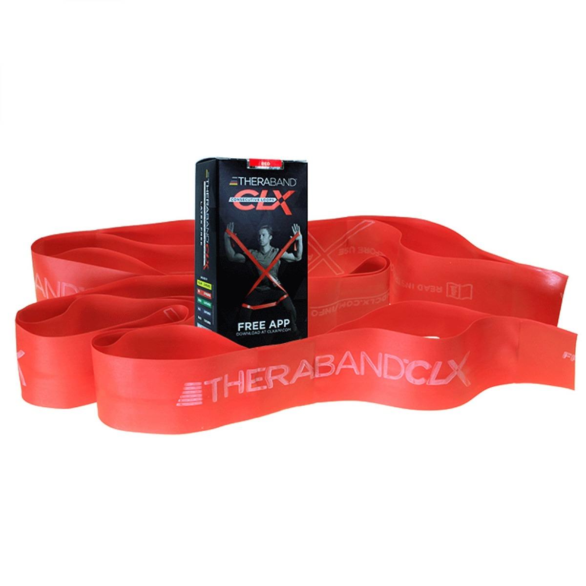 TheraBand CLX - Consecutive Loops, 2, Individual 5-Foot