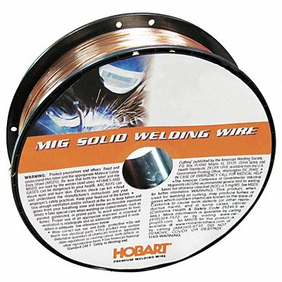 11 lb Carbon Steel Spool MIG Welding Wire with 0.035 Diameter and ER70S-6 AWS Classification