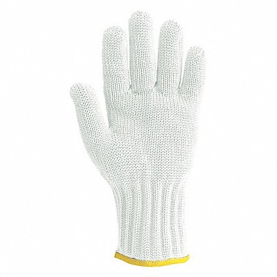Uncoated Cut Resistant Glove ANSI/ISEA Cut Level 5 HPPE Lining White XS EA 1