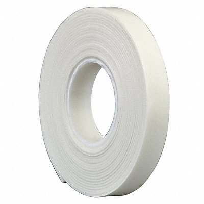 Polyethylene Foam Double Sided Foam Tape Rubber Adhesive 1/16 Thick 1/2 X 5 yd. White