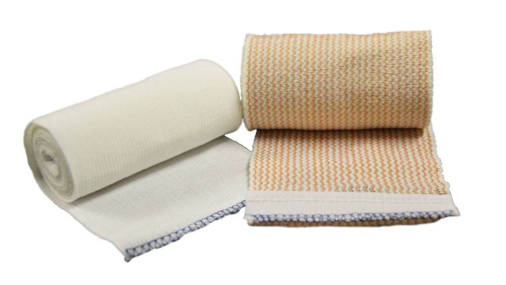 Bandage Elastic Tubular Compression Natural Latex Free, Non-Sterile