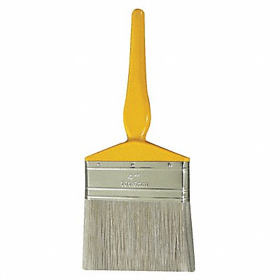 4 Flat Sash Synthetic Bristle Paint Brush Soft for Oil Based 1 EA