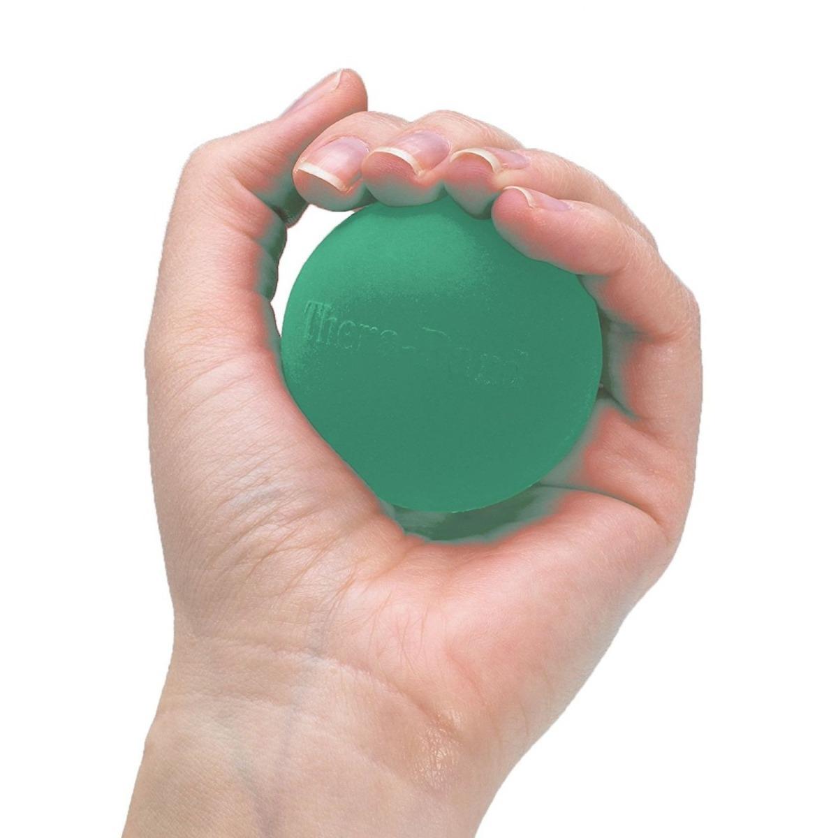 TheraBand Hand Exerciser, Level 3, Green, Medium