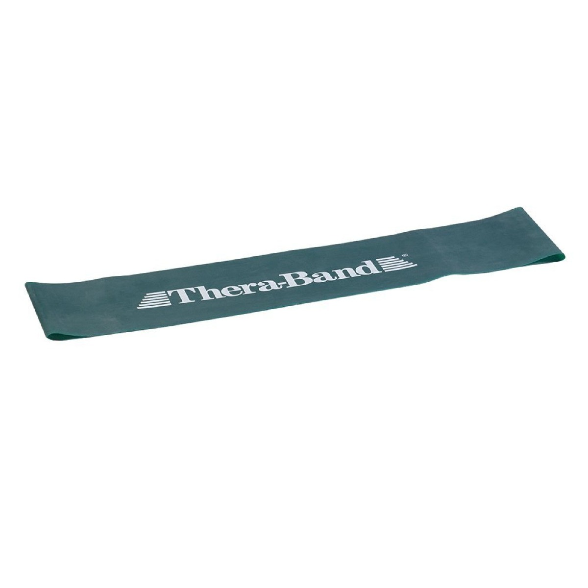"TheraBand Loops, 18"" Flat, Level 3, Green, Heavy"