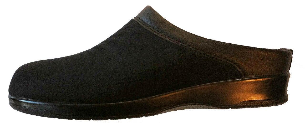 Pedors Women's Euro Style Stretch Clogs Black (Pair)