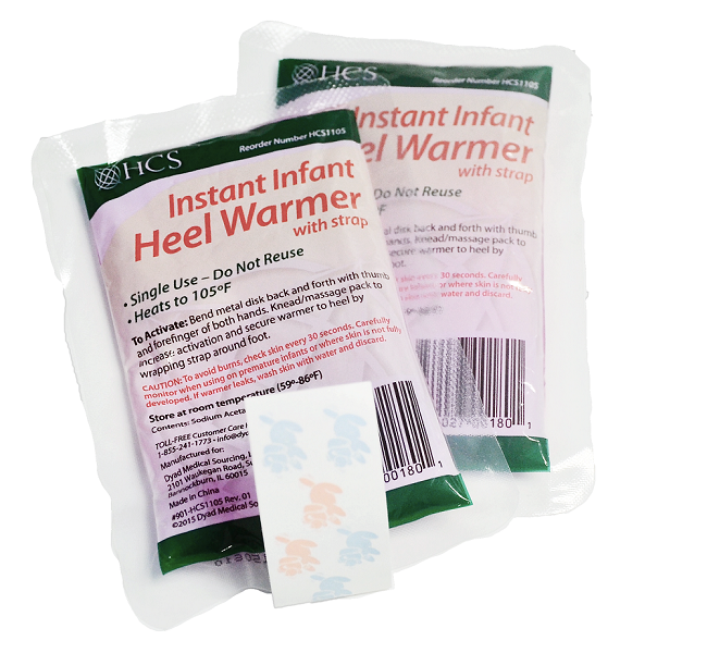 Infant Heel Warmer With Strap(case Of 100)