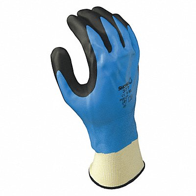 13 Gauge Foam Nitrile Coated Gloves Glove Size 7 Blue/Black