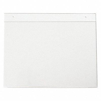 Sign Holder Wall 14x10 Acrylic Clear