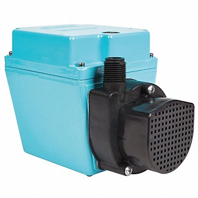 1/15 HP Compact Submersible Pump 115V Voltage Continuous Duty 6 ft Cord Length