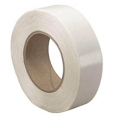 UPVC Double Sided Tape Acrylic Adhesive 8.50 mil Thick 3 X 36 yd. Clear