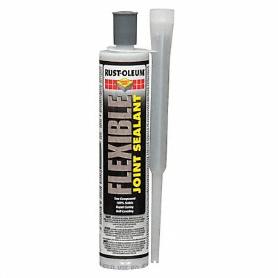 Gray Flexible Joint Sealant 9 oz Cartridge Coverage 13.3 sq. Ft.