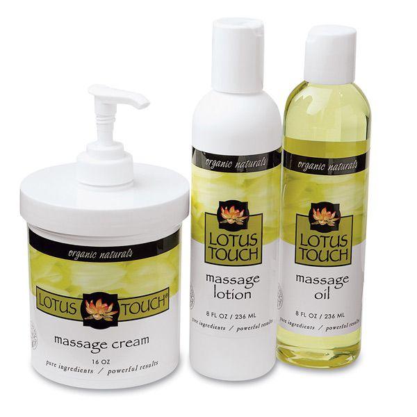 Lotus Touch Organic Naturals Massage Kit