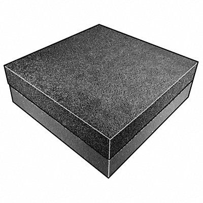 Open Cell/Closed Cell Foam Sheet Polyurethane/Polyethylene 1 Thick 24 W X 24 L Charcoal