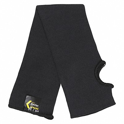 Kevlar? Sleeve with Thumbhole 18 L Knitted Cuff Black Sleeve Size Universal