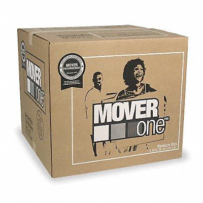 Corrugated Moving/Storage Box Brown Inside Width 18  Inside Length 18  Inside Depth 16   |  Box of