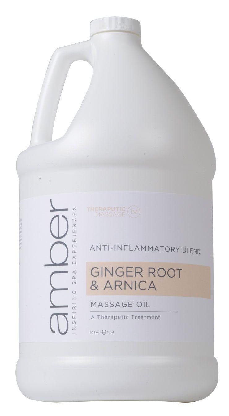Amber Ginger Root & Arnica Massage Oil