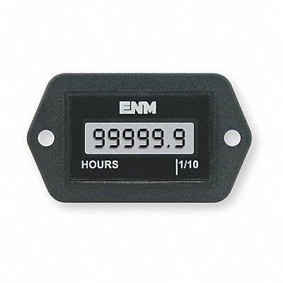 Hour Meter 5 to 28VDC Operating Voltage Number of Digits 6 Rectangular Bezel Face Shape