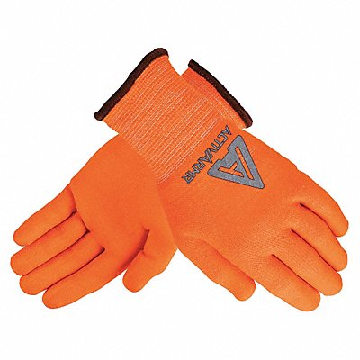 Nitrile Cut Resistant Gloves ANSI/ISEA Cut Level 2 Polyester Spandex? Technor? Lining High Visi