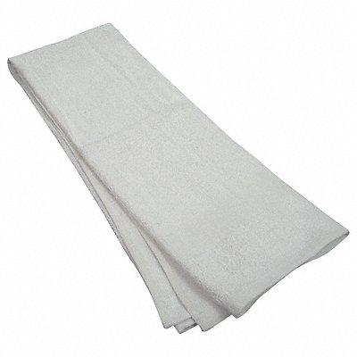 44 x 22 100 Cotton Bath Towel White PK12
