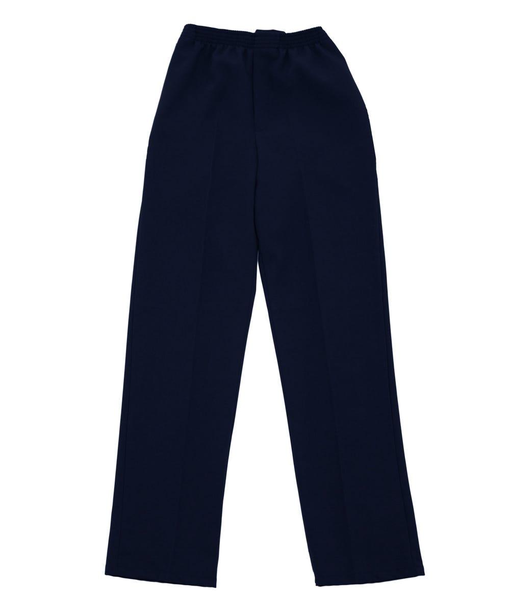 Open Back Gabardine Pants for Men