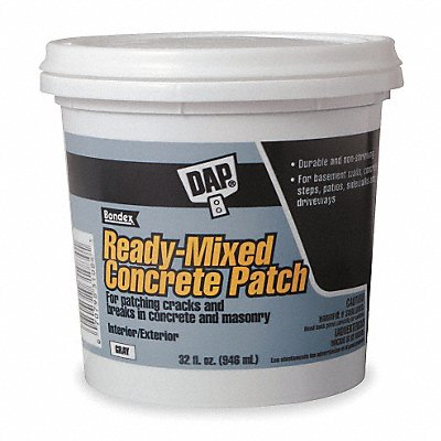 Gray Concrete Patch 1 gal Pail Coverage Not Specified
