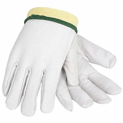 Uncoated Cut Resistant Gloves ANSI/ISEA Cut Level 2 Kevlar? Lining Gray M PR 1