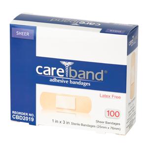 """Bandage, Sheer, 1""""x3"""""""