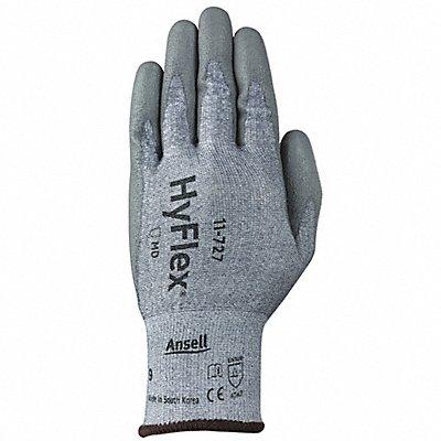 Polyurethane Cut Resistant Gloves ANSI/ISEA Cut Level 2 HPPE Lycra? Lining Gray 10 PR 1