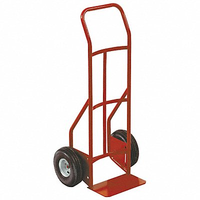 Hand Truck 650 lb Load Capacity Continuous Frame Flow-Back 14 Noseplate Width