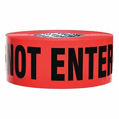 Barricade Tape Red/Black 3 x 1000 ft. Danger Do Not Enter