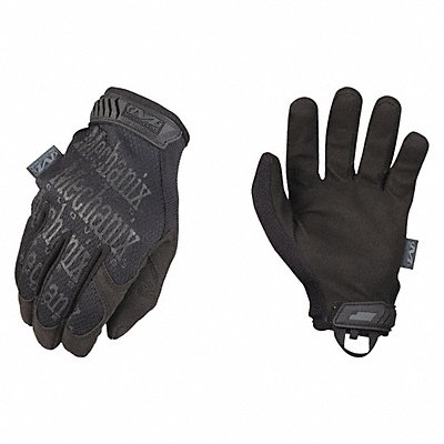 General Utility Mechanics Gloves Synthetic Leather Palm Material Black/Black XL PR 1