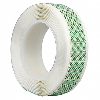 Polyethylene Foam Double Sided Foam Tape Rubber Adhesive 1/16 Thick 1 X 1  White