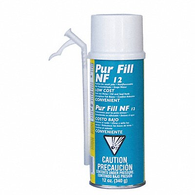 Multipurpose/Construction Insulating Spray Foam Sealant 12 oz Aerosol Can and Foam Dispenser Yell