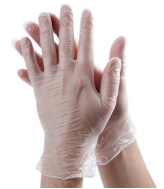 Vinyl Gloves, 1000 gloves per case