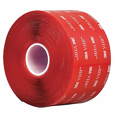 Acrylic Double Sided VHB Tape Acrylic Adhesive 40.00 mil Thick 2 X 5 yd. Clear
