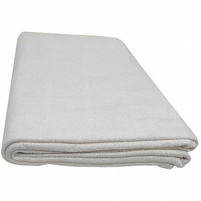 90 x 66 Twin 100 Cotton Thermal Blanket White