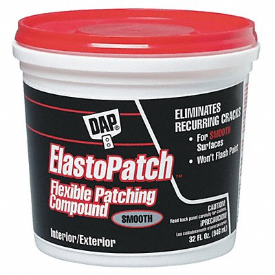 Smooth Flexible Patching Compound 1 qt. Size White Color Container Type Pail