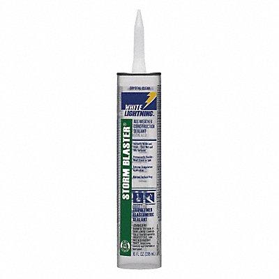 Clear Construction Sealant Hybrid 10.0 oz Cartridge