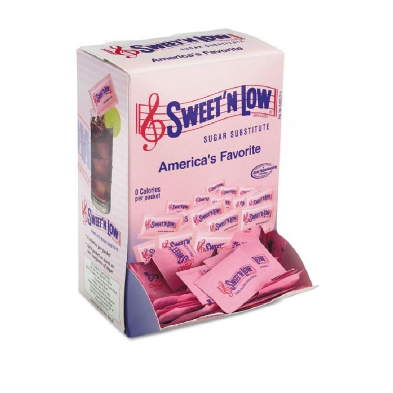 Sweet'n Low Sugar Substitute Packets (1 Gm, 1,600 Count)
