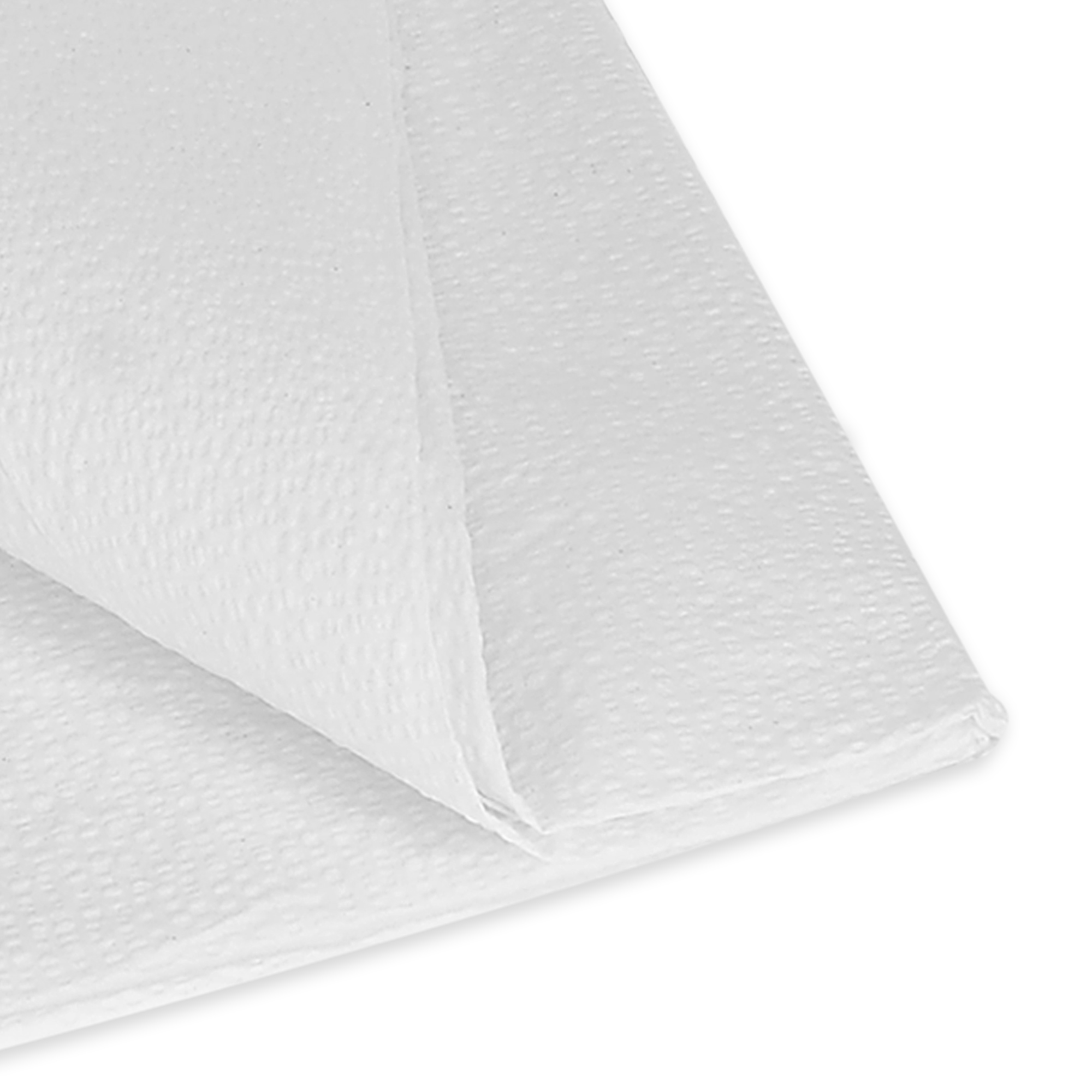 "Drape Sheet 40"" x 48"" 2-Ply Tissue White, 100/Cs"