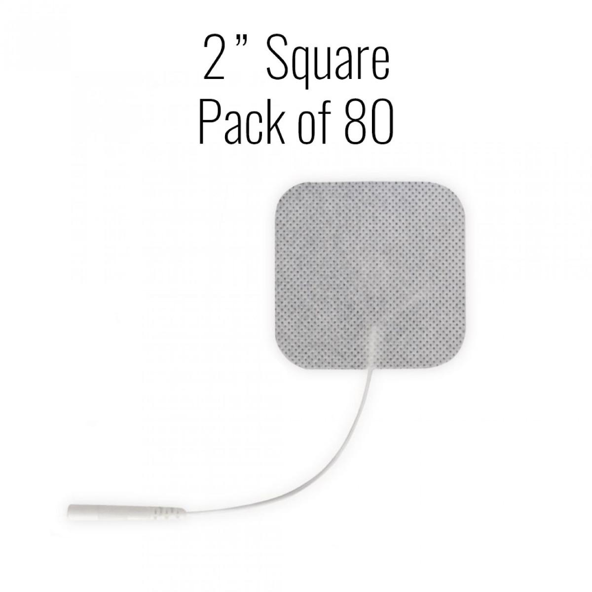 "Metron Cloth Electrodes, 2"" Square , 80/pk."
