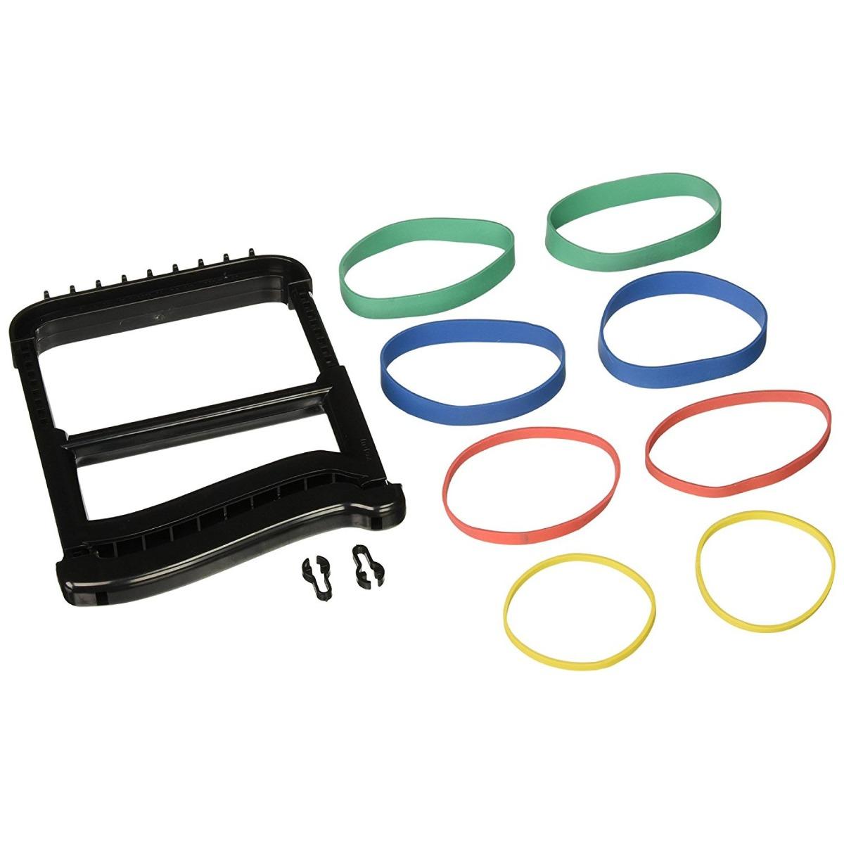 Rolyan Basic Ergonomic Hand Exerciser, Black, Each
