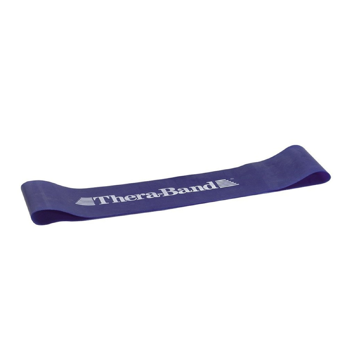 "TheraBand Loops, 8"" Flat, Level 4, Blue, Extra Heavy"