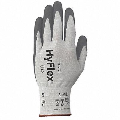 Polyurethane Cut Resistant Gloves ANSI/ISEA Cut Level 2 Dyneema? Spandex? Lining Gray 9 PR 1