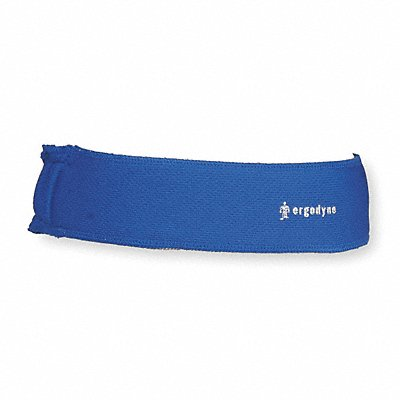 Headband Terrycloth Blue Universal 1 EA