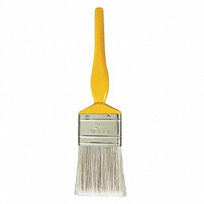 2 Flat Sash Synthetic Bristle Paint Brush Soft for Oil Based 1 EA